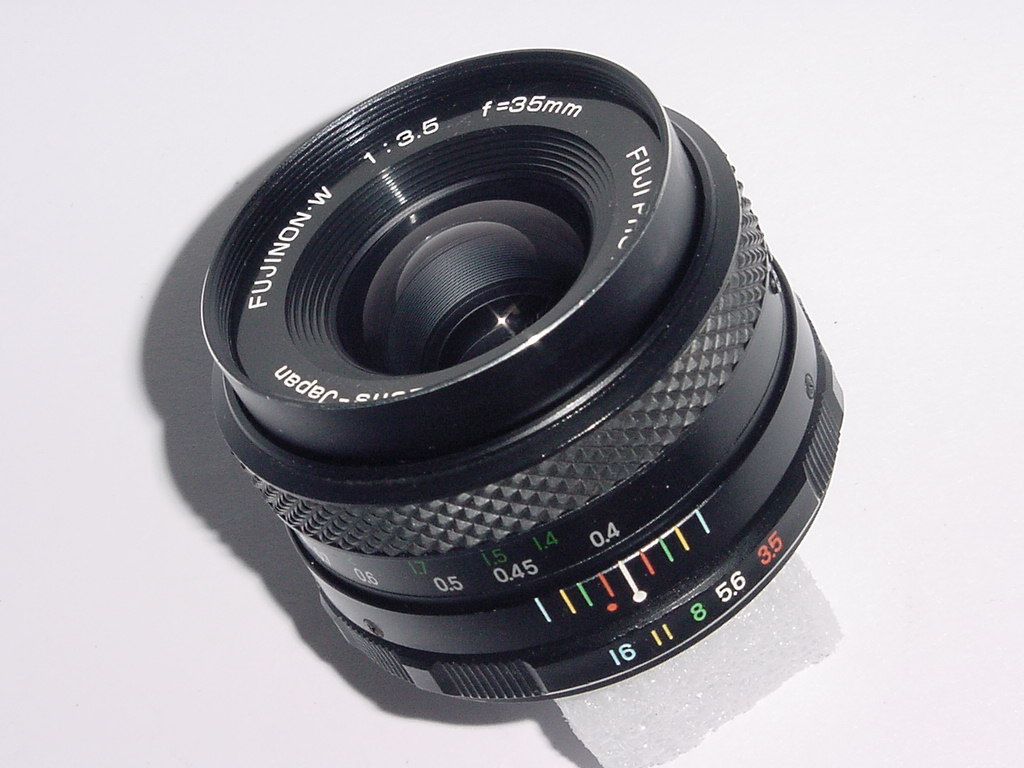 FUJI FUJINON.W 35mm F/3.5 Manual Focus M42 Screw Mount Lens