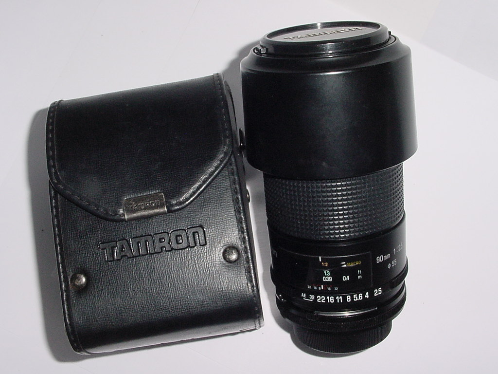 TAMRON 90mm F2.5 SP MACRO Manual Focus Lens For Canon FD