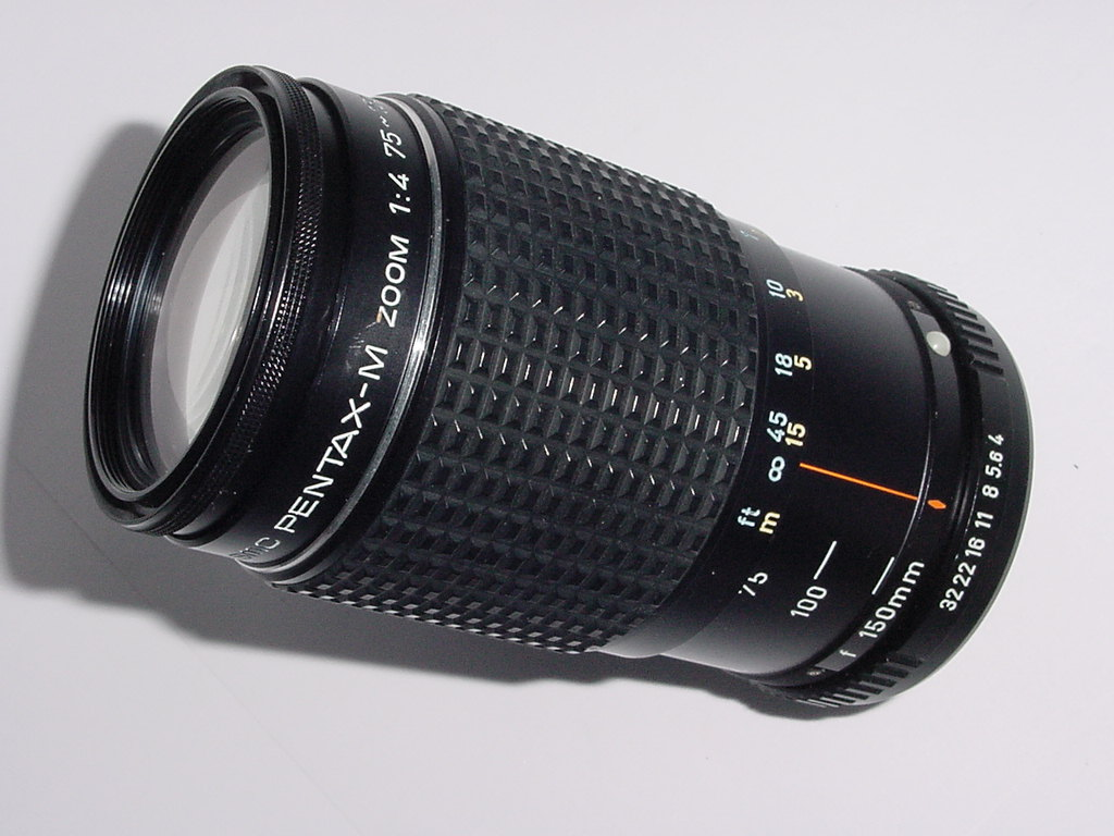 Pentax 75-150mm F/4 SMC-M Manual Focus Zoom Lens