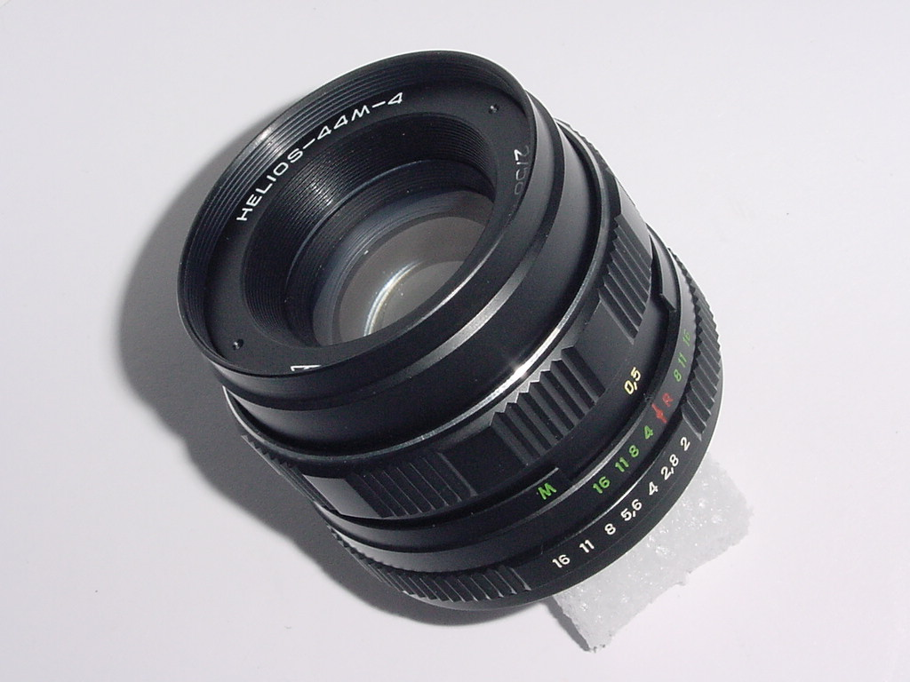HELIOS-44M-4 58mm F/2 M42 Screw Mount Manual Focus Lens