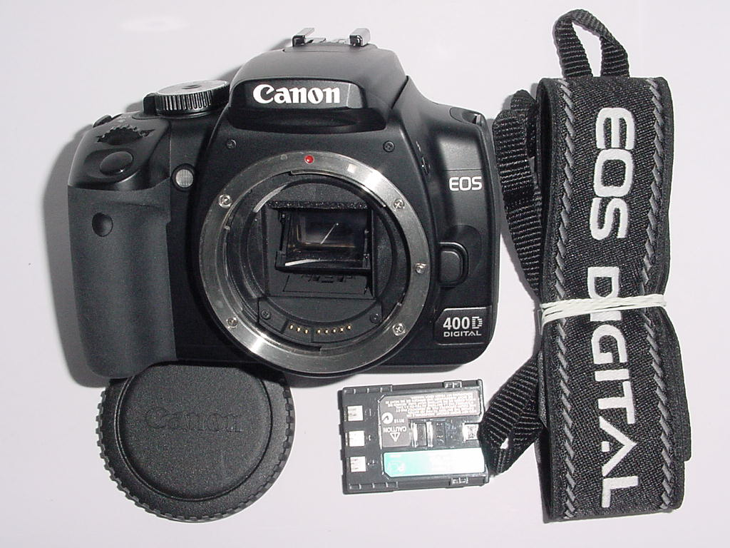 Canon EOS 400D 10.1MP Digital DSLR Camera Body