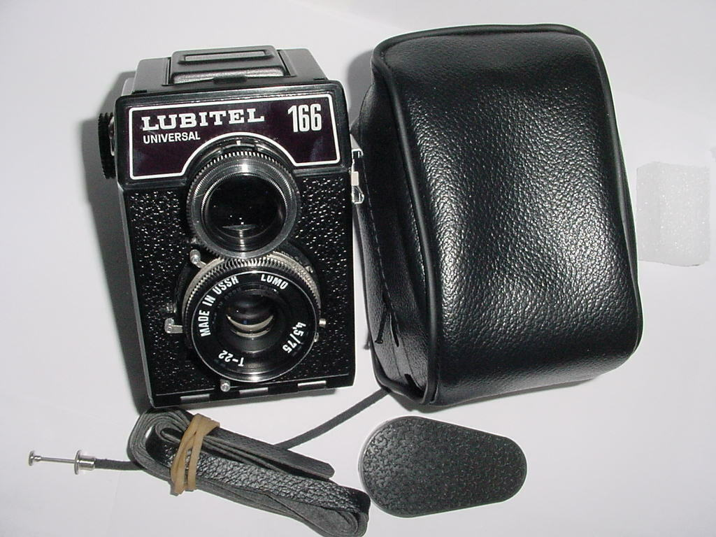 LUBITEL 166 UNIVERSAL LOMO 120 Film Medium Format CAMERA w/ 75/4.5 Lens