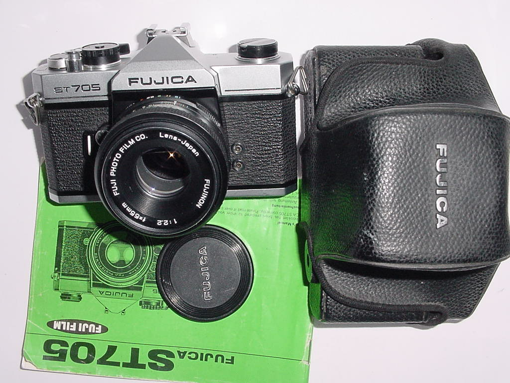 FUJICA ST705 35mm Film SLR Manual Camera + FUJINON 55/2.2 Lens