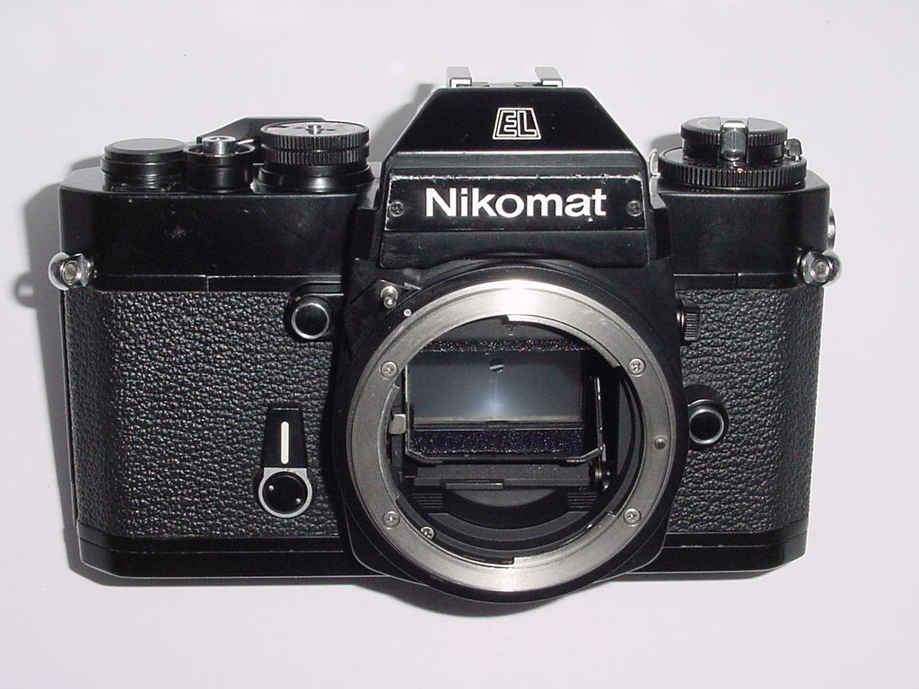 Nikon Nikomat EL 35mm Film Manual SLR Camera Body - Black