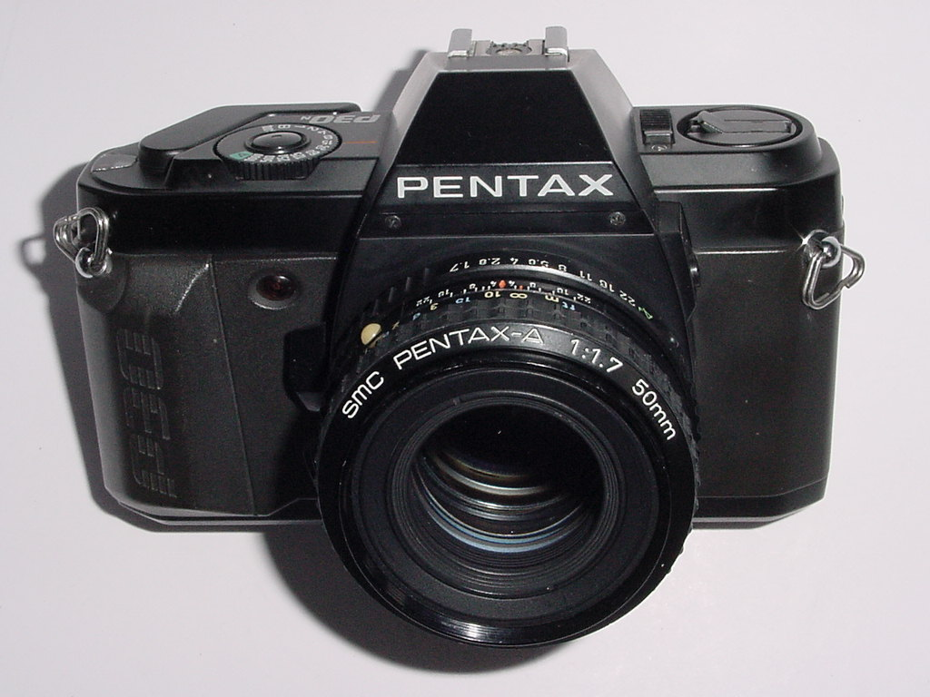 Pentax P30N 35mm Film SLR Manual Camera with Pentax-A 50mm F/1.7 SMC Lens