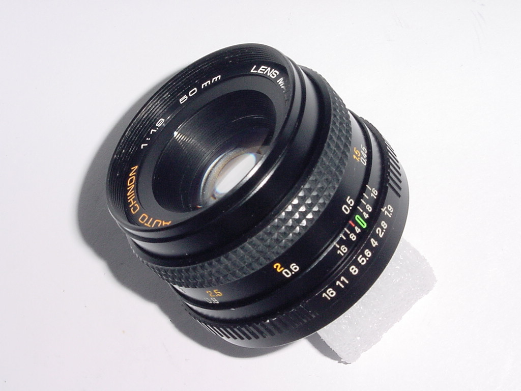 Pentax K Fit CHINON 50mm F/1.9 Manual Focus Standard Lens