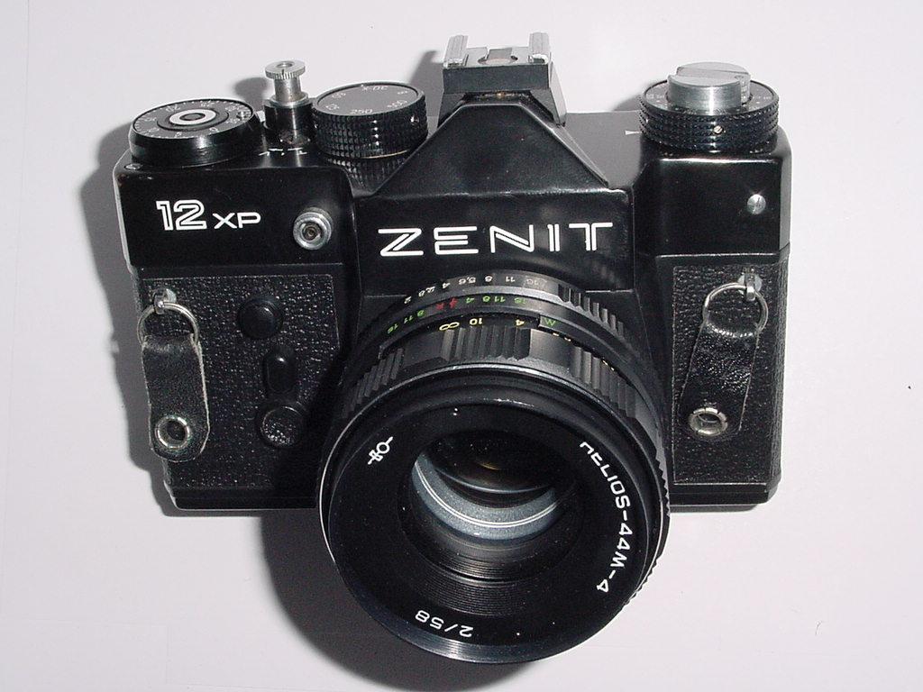 ZENIT 12 XP 35mm Film SLR Manual Camera with HELIOS-44M 58mm F/2 Lens