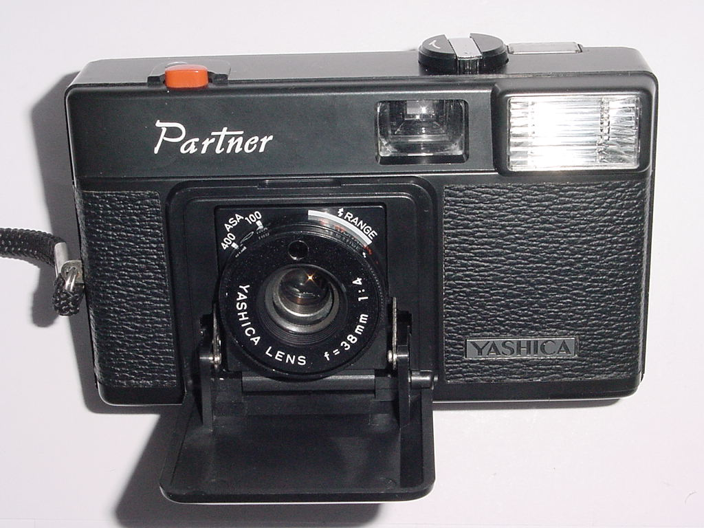 Yashica Partner 35mm Film Point & Shoot Camera with 38/4 Lens