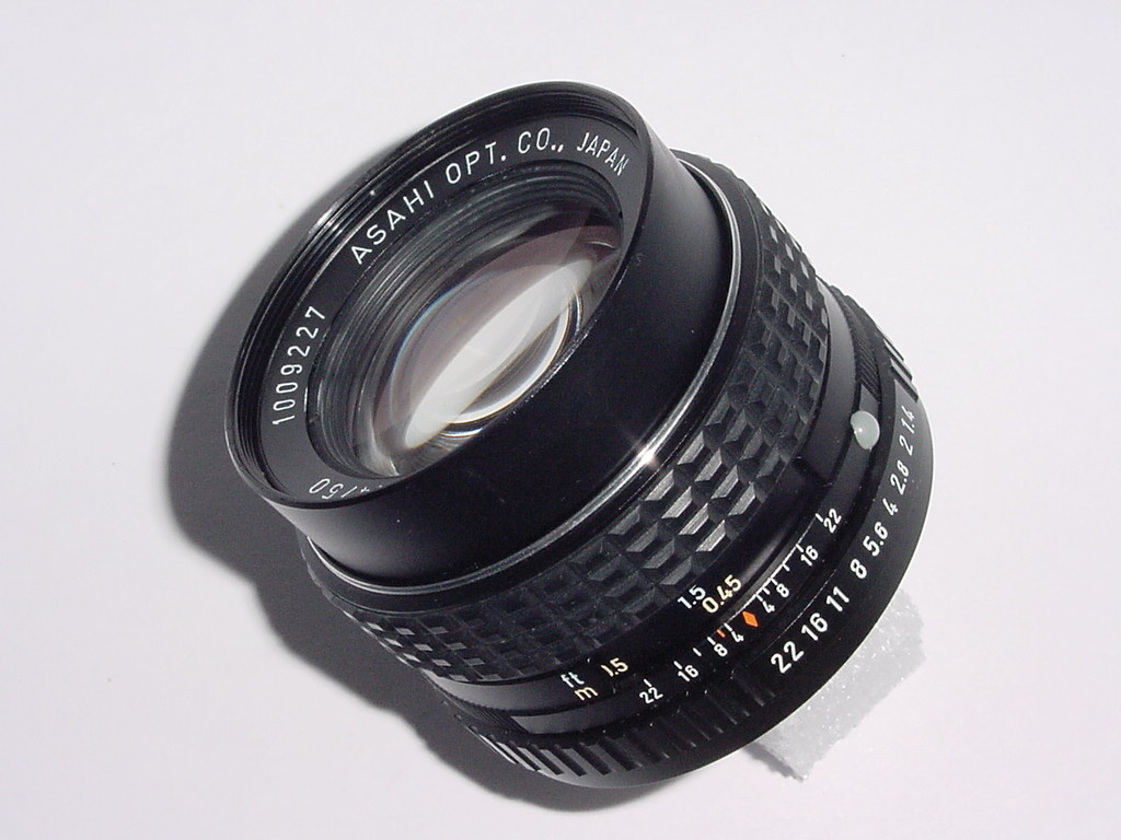 PENTAX 50mm F/1.4 ASAHI SMC Manual Focus Standard PK Lens