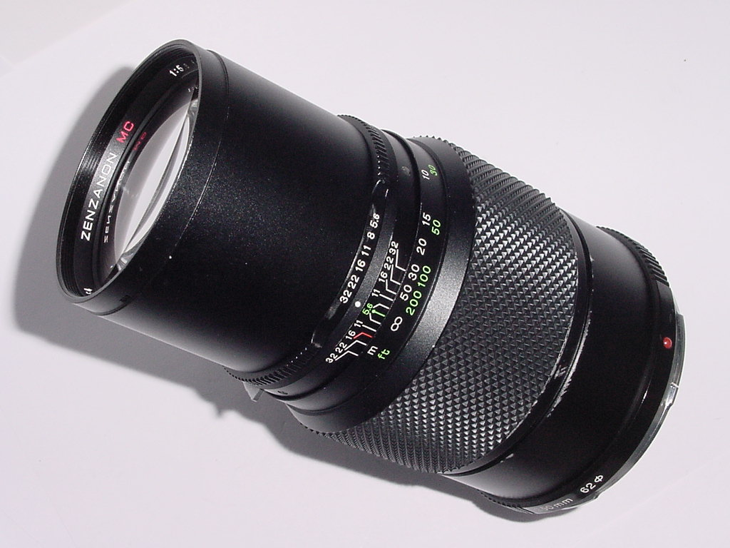ZENZA BRONICA 250mm F/5.6 MC Lens For ETRS ETR ETRC ETRSi SLR Cameras