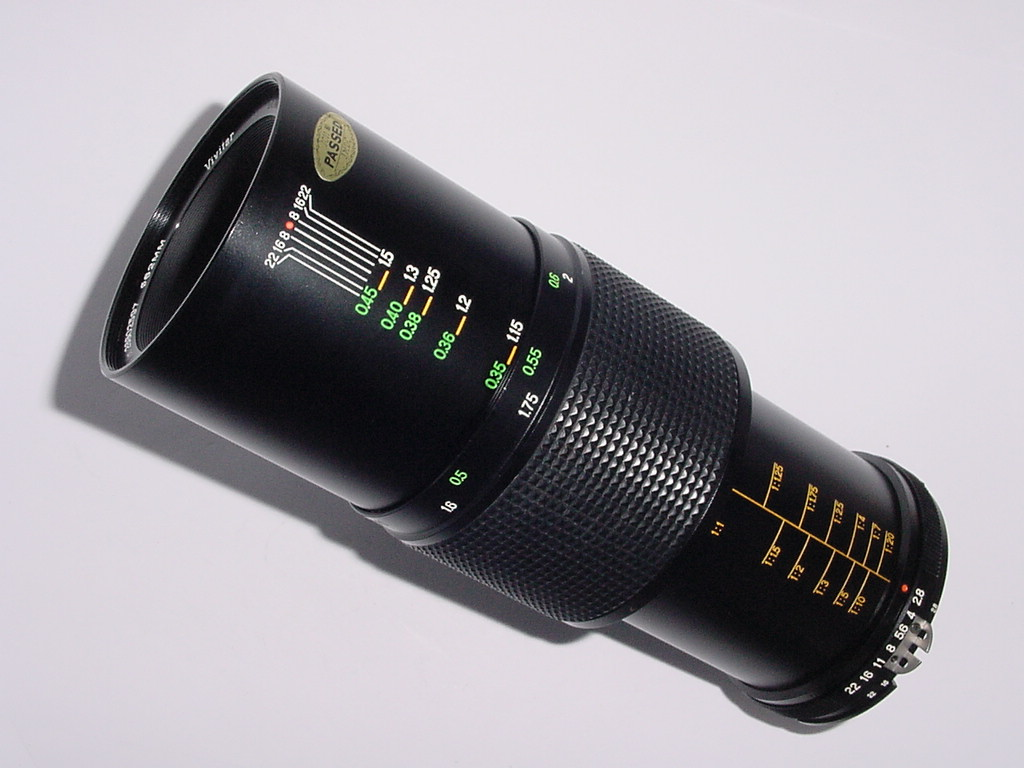 Nikon AI Fit Vivitar 90mm F2.8 Auto Telephoto MACRO Manual Focus Lens