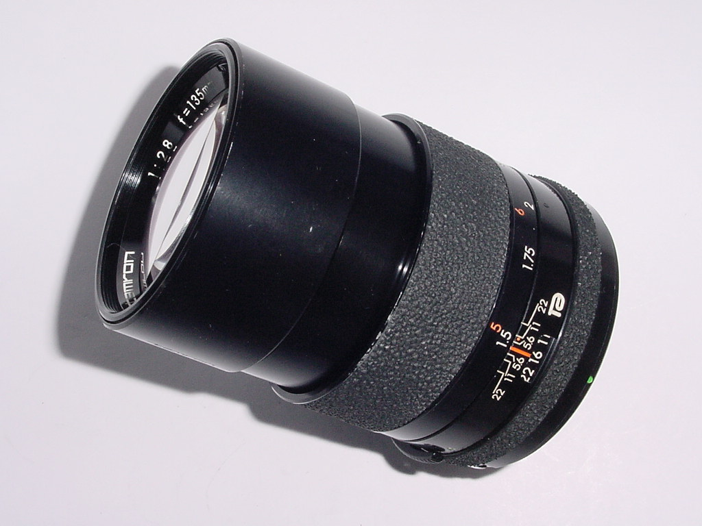 Tamron 135mm F/2.8 BBAR Multi Coated Manual Focus Lens + Nikon Adaptor