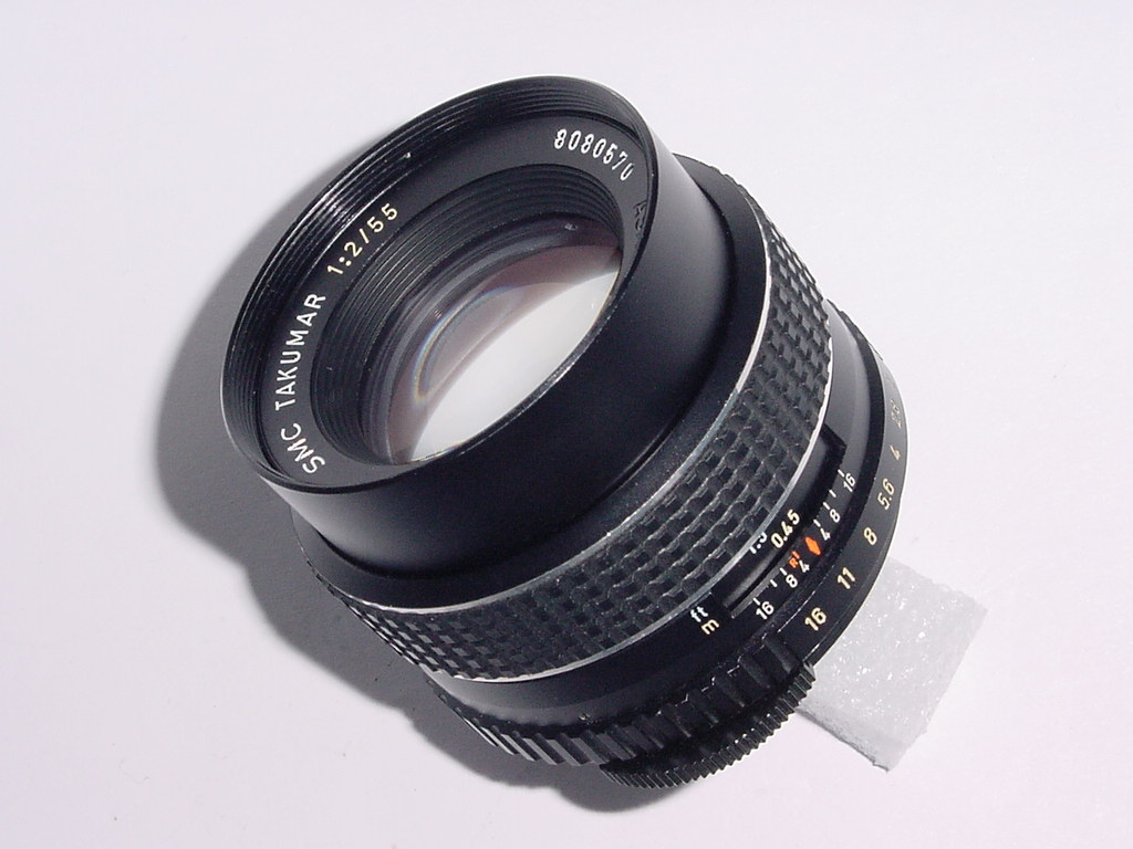Pentax Takumar 55mm f/1.8 SMC M42 SCREW MOUNT MANUAL FOCUS Lens