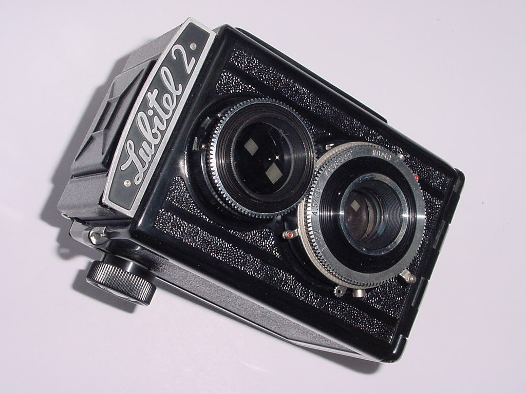 LOMO Lubitel 2 120 Film Medium Format Camera with 75mm F/4.5 T-22 Lens