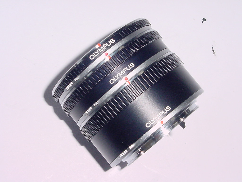 Olympus 7mm 14mm 25mm Extension Tube Set