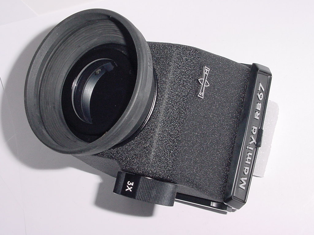 Mamiya RB67 3x 5x Magnifying Chimney Finder