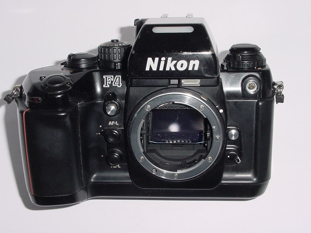 Nikon F4 35mm Film SLR Camera Body