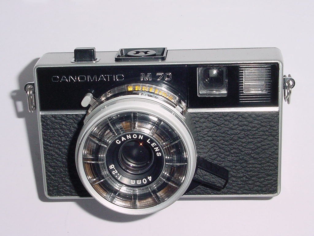 Canon Canomatic M 70 126mm Film Point & Shoot Camera 40mm F/2.8 Lens