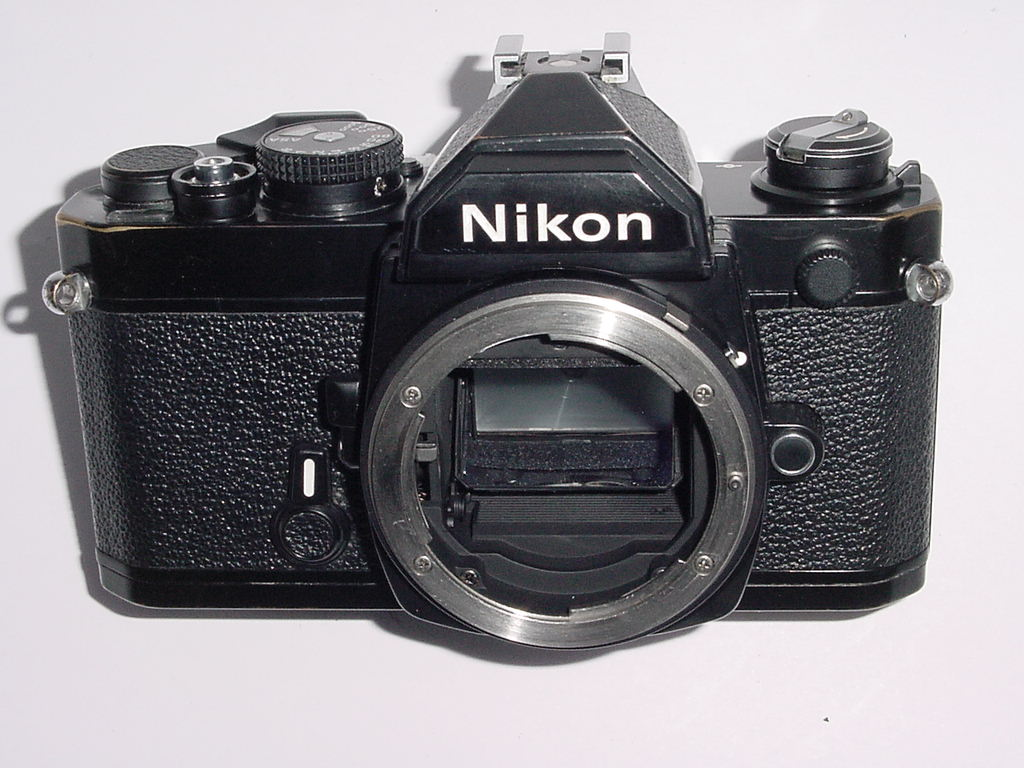 Nikon FM 35mm SLR Film Manual Camera Body - Black