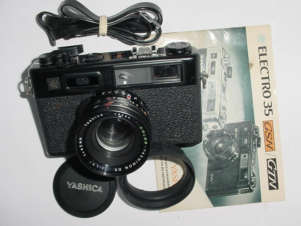 YASHICA ELECTRO 35 GTN 35mm Film Rangefinder Camera