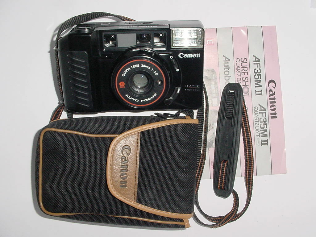 Canon SURE SHOT 35mm Film Point and Shoot Auto Focus Camera with