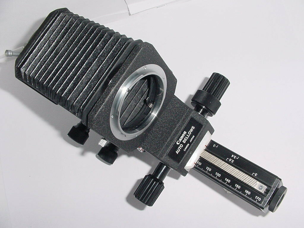 CANON AUTO BELLOWS FD MOUNT For Macro & Close Up Photography