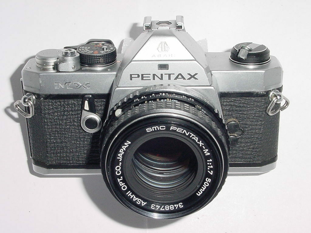 Pentax MX 35mm Film SLR Manual Camera with Pentax-M 50mm F/1.7 SMC Lens