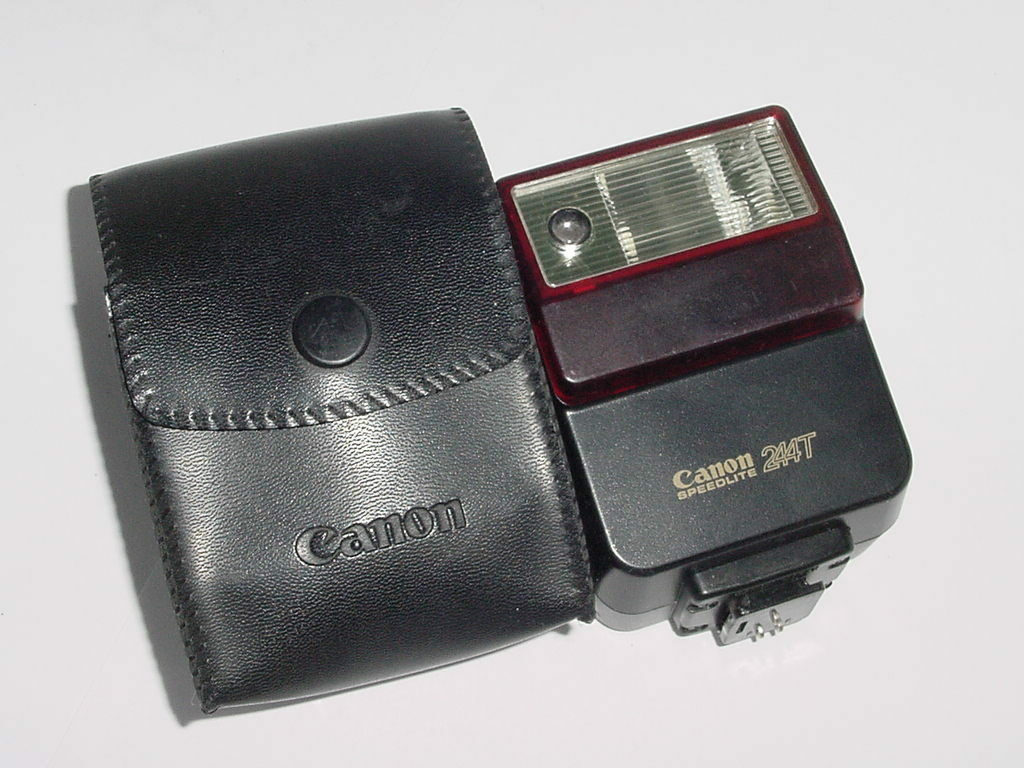 Canon Speedlite 244T For Canon A-1 AE-1, AE-1 Program, AV-1 AL-1