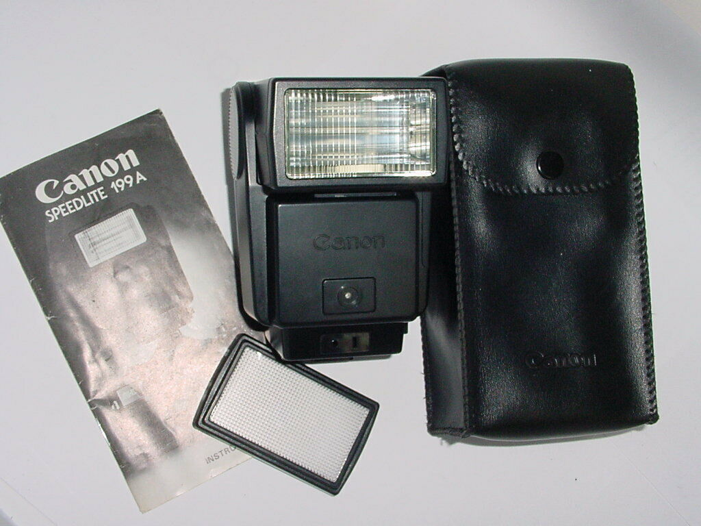 Canon 199A SPEEDLITE Flash For Canon A-1 AE-1, AE-1 PROGRAM, AV-1, AT-1, AL-1 Ca