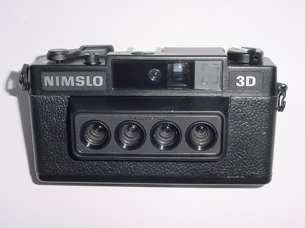 NIMSLO 3D Stereo 35mm Film Camera with 30mm Twin Lens