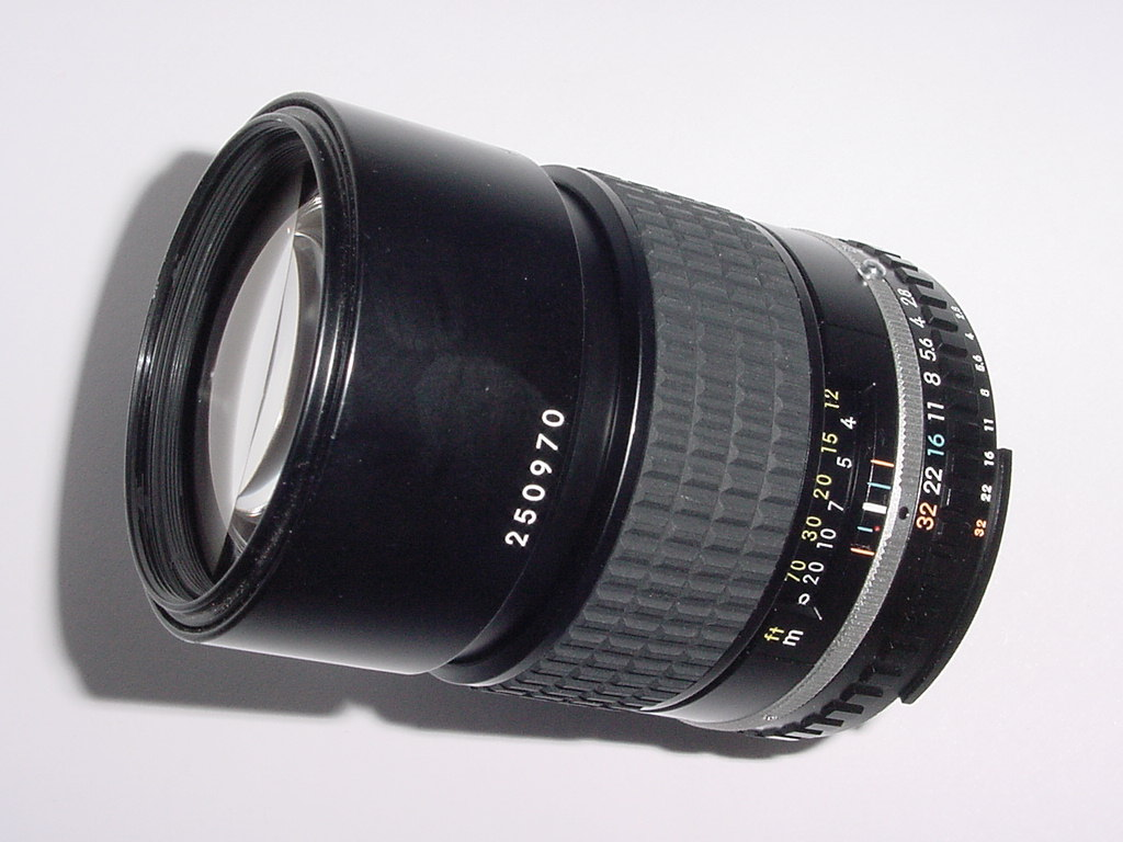 Nikon 135mm F/2.8 Series E Manual Focus Lens