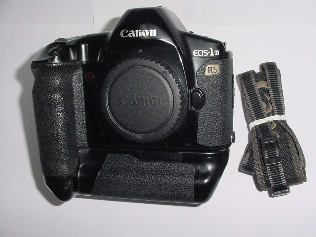 Canon EOS-1N RS 35mm Film SLR Auto Focus Camera Body