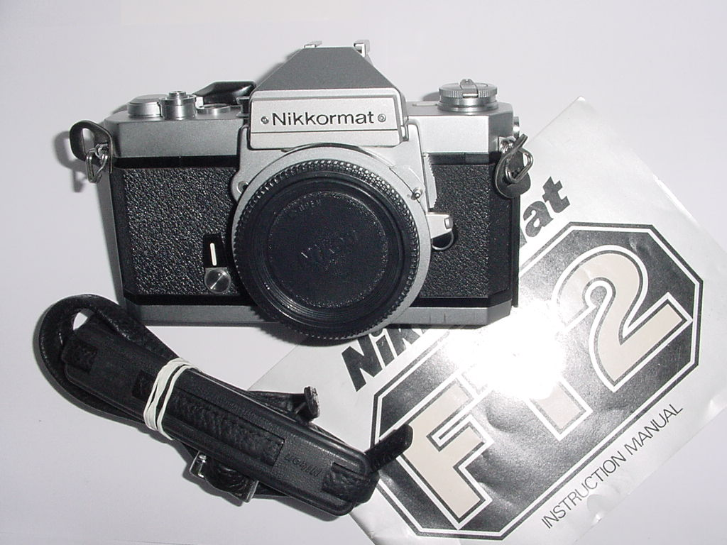 Nikon Nikkormat FT2 35mm Film SLR Manual Camera Body