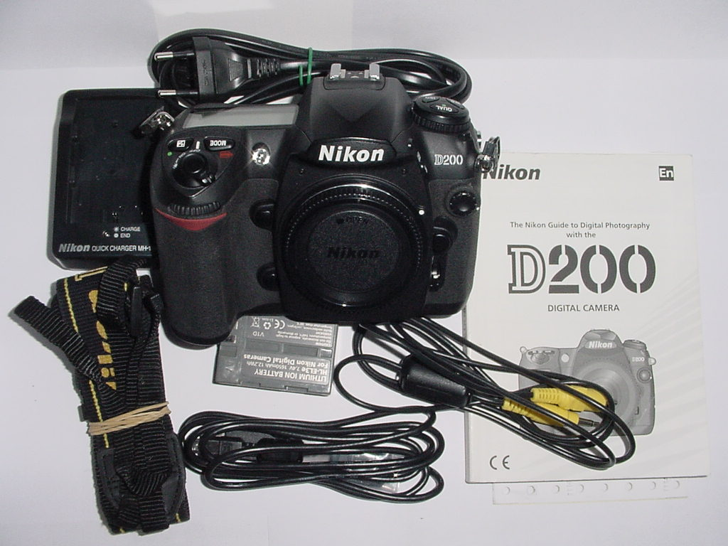 Nikon D200 10.2MP Digital SLR Camera Body