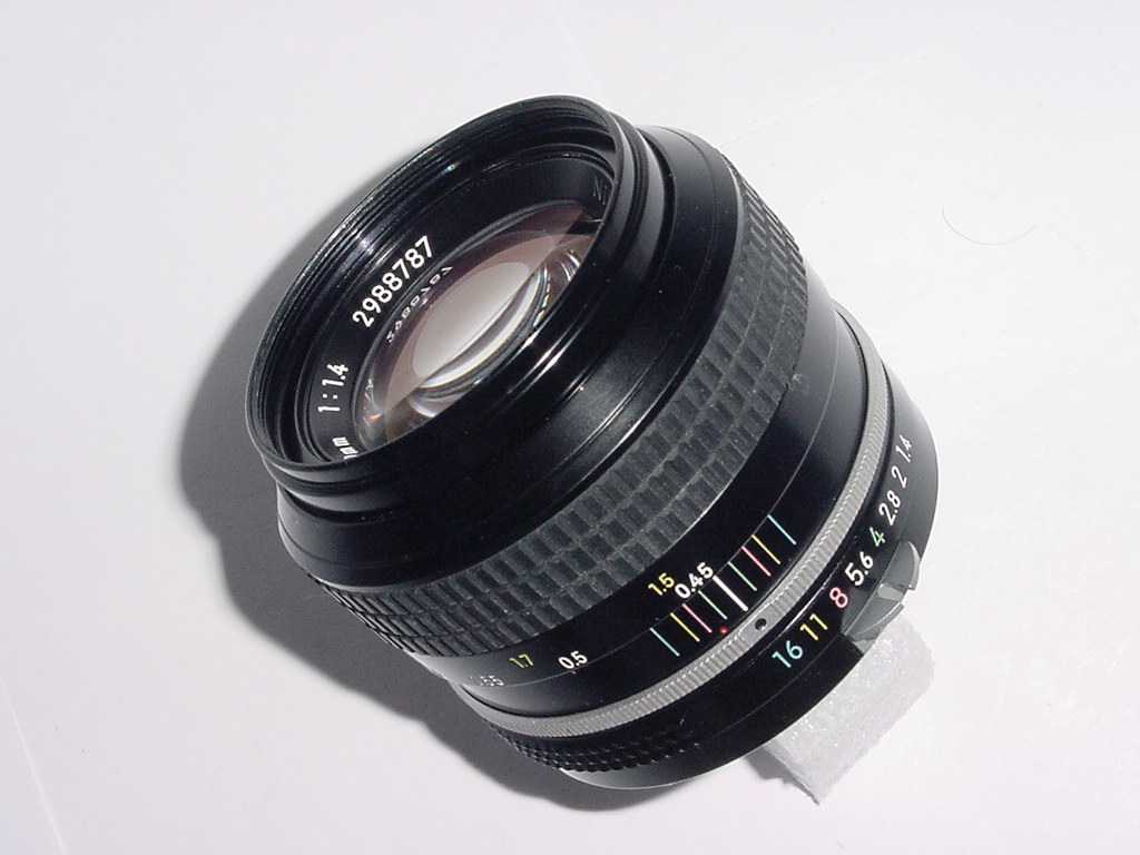 Nikon 50mm F/1.4 Pre-AI Manual Focus Standard Lens