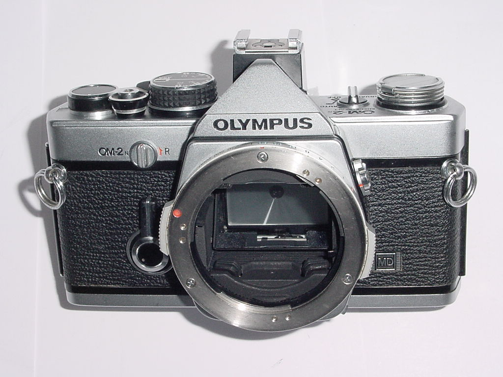 Olympus OM-2N MD 35mm Film SLR Manual Camera Body