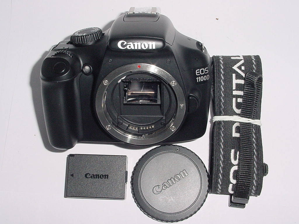 Canon EOS 1100D 12.2MP Digital SLR DSLR Camera Body