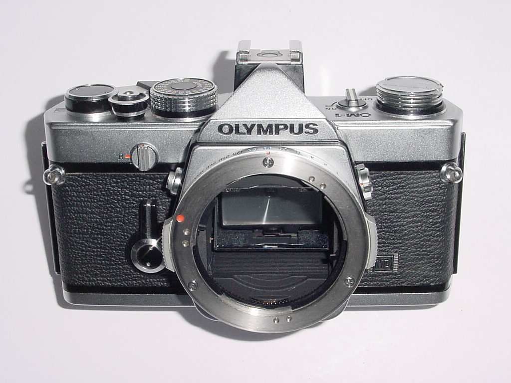 Olympus OM-1 MD 35mm Film SLR Manual Camera Body