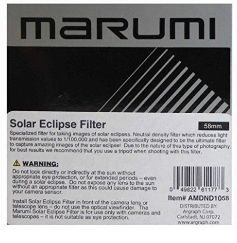 Marumi 58mm DHG ND 100000 Neutral Density Filter - DHG58ND100K